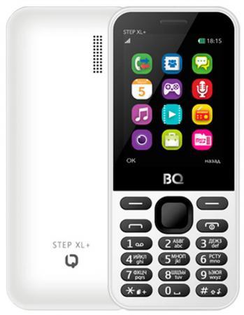 Мобильный телефон BQ BQM-1831 Step + белый 2.8 32 Мб GPS сотовый телефон bq mobile bqm 1831 step black