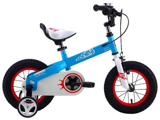 """Велосипед двухколёсный Royal baby Honey Steel 14"""" голубой RB14-15"""