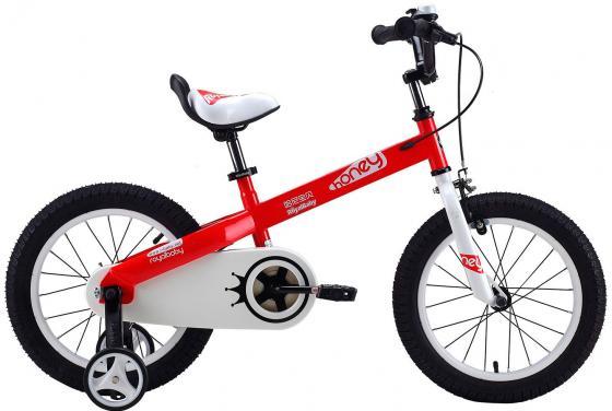 """Велосипед двухколёсный Royal baby Honey Steel 14"""" красный"""