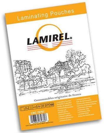 Пленка для ламинирования Fellowes Lamirel LA-7866201 А6 125мкм 100шт цены