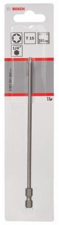 Бита Bosch TORX T15 XH 152мм 2607001666 цена и фото