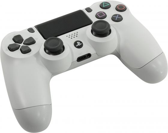 Геймпад Sony Dualshock для Sony PlayStation 4 CUH-ZCT2E белый адаптер playstation dualshock 4 usb wireless черный