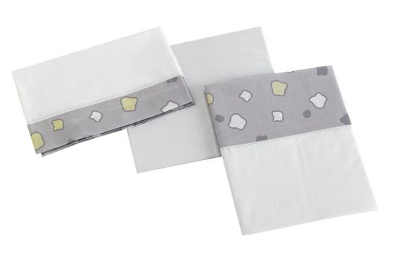 Постельное белье 120х60см 3 предмета Micuna Dinus Gris TX-821 (grey) dinus gris