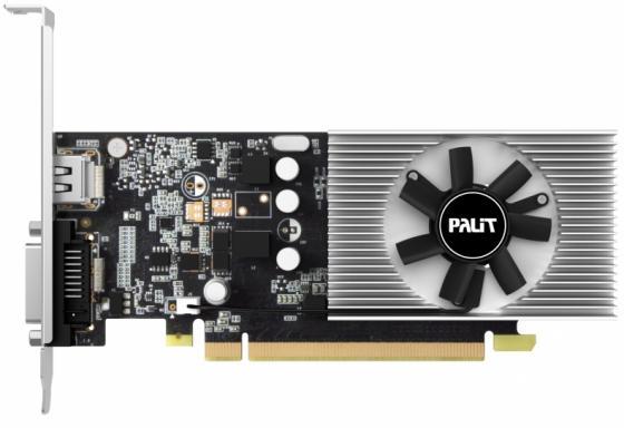 Видеокарта 2048Mb Palit GeForce GT1030 PCI-E DDR5 64bit DVI HDMI OEM видеокарта dell pci e 490 bcgc nv k620 2048mb ddr3 dvix1 dpx1 oem