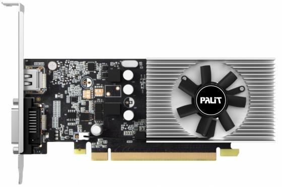 Видеокарта 2048Mb Palit GeForce GT1030 PCI-E DDR5 64bit DVI HDMI HDCP PA-GT1030 2GD5 NE5103000646-1080F Retail видеокарта 4096mb palit geforce gtx1050ti stormx pci e pa gtx1050ti stormx 4g retail ne5105t018g1 1070f