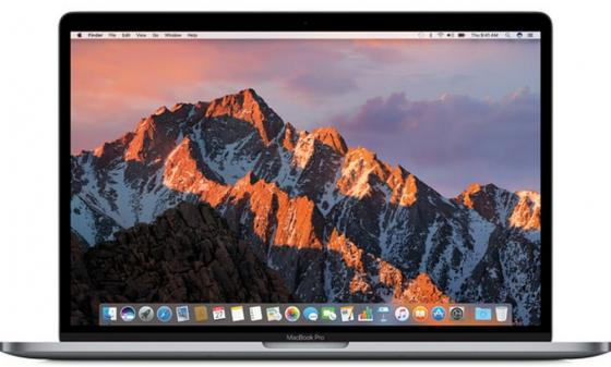Фото Ноутбук Apple MacBook Pro 15.4 2880x1800 Intel Core i7 256 Gb 16Gb AMD Radeon Pro 555 2048 Мб серый macOS MPTR2RU/A ноутбук apple macbook pro 15 4 2880x1800 intel core i7 16gb 512gb amd radeon 460 4096 мб hd530 серый macos z0sg000nc
