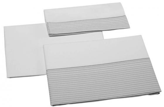 Постельное белье 140х70см 3 предмета Micuna Valeria TX-823 (grey) постельное белье chicco fairy tale grey 09010796330990