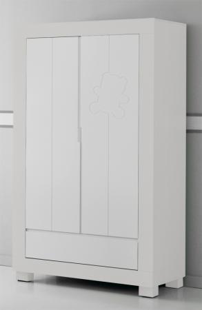 Шкаф двустворчатый Micuna Neus (white) meblik шкаф двустворчатый meblik орхидея 90