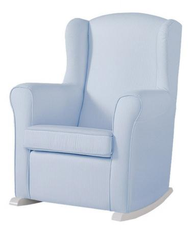 Кресло-качалка Micuna Wing Nanny (white/blue stripes) стул onlitop migel briz 161296 blue cyan кресло качалка