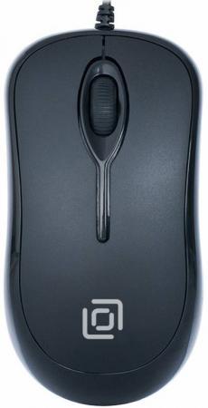 лучшая цена Мышь проводная Oklick 285M чёрный USB