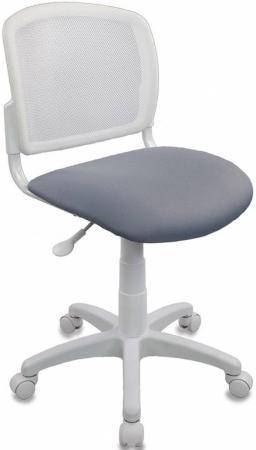 Кресло детское Бюрократ CH-W296NX/15-48 спинка сетка белый TW-15 сиденье серый 15-48 все цены