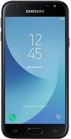 "Смартфон Samsung Galaxy J3 2017 черный 5"" 16 Гб LTE Wi-Fi GPS 3G SM-J330FZKDSER цена"
