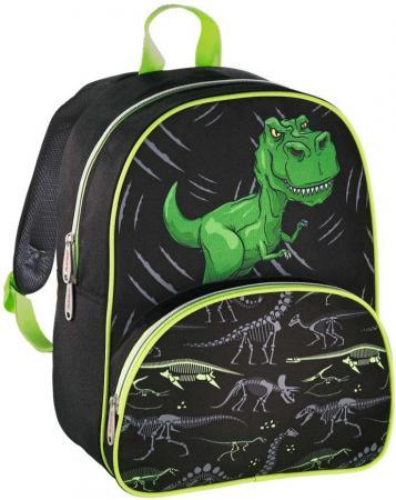 Дошкольный рюкзак HAMA Dino зеленый черный 00139099