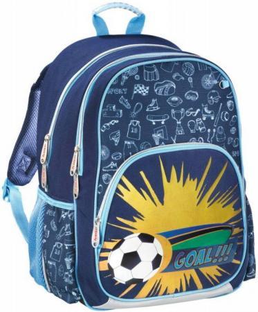 Рюкзак HAMA Soccer 14 л синий 139082 рюкзак школьный hama pretty girl