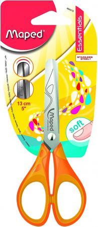 Ножницы детские Maped Essentials Soft 13 см 464410 канцелярия maped ножницы детские для левшей vivo 12 см