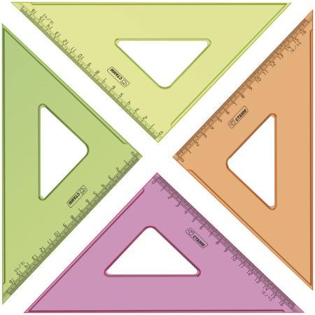 Треугольник СТАММ ТК57 16 см пластик в ассортименте цены онлайн