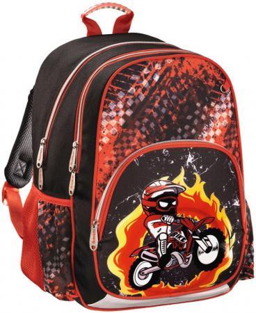 Рюкзак HAMA Motorbike 14 л черный красный 00139086 рюкзак школьный hama pretty girl