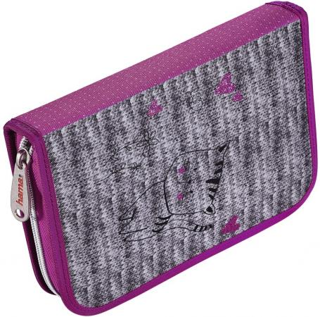 Пенал HAMA Lovely cat 139126 women lovely cat bowknot mini coin purse zipper wallet handbag crossbody card holder