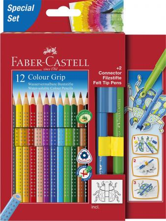 Набор цветных карандашей Faber-Castell 201396 12 шт 210 мм картонная коробка faber castell набор угольных карандашей pitt 3 шт