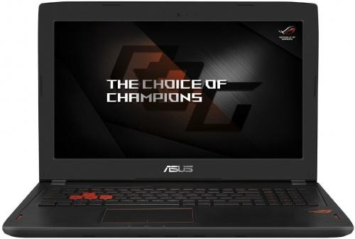 Ноутбук ASUS GL502VM-FY303 15.6 1920x1080 Intel Core i5-7300HQ 1 Tb 128 Gb 8Gb nVidia GeForce GTX 1060 3072 Мб черный Linux 90NB0DR1-M05250 ноутбук asus k501ux dm282t 15 6 intel core i7 6500 2 5ghz 8gb 1tb hdd geforce gtx 950mx 90nb0a62 m03370