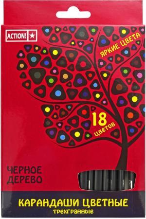 Набор цветных карандашей Action! 4607692490568 18 шт 160 мм г шлис рудольф фон вестенбург картина необузданных страстей ч 2