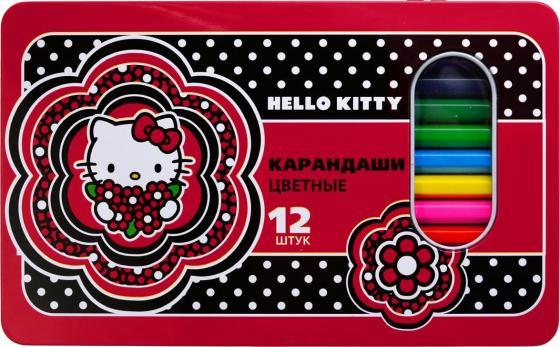 Набор цветных карандашей Action! Hello Kitty 12 шт HKO-ACP305-12 20cm kawai hello kitty plush toys high quality stuffed dolls for girls kids toys gift action