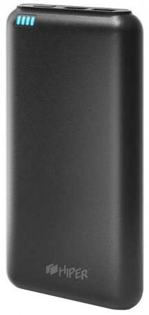 Портативное зарядное устройство HIPER SP20000 20000мАч черный портативное зарядное устройство hiper rp8500 8500мач черный