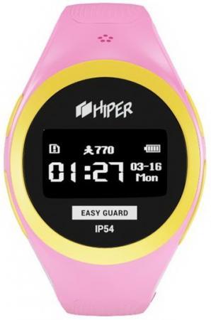 Смарт-часы Hiper Easyguard розовый EG-01PNK hiper easyguard розовый