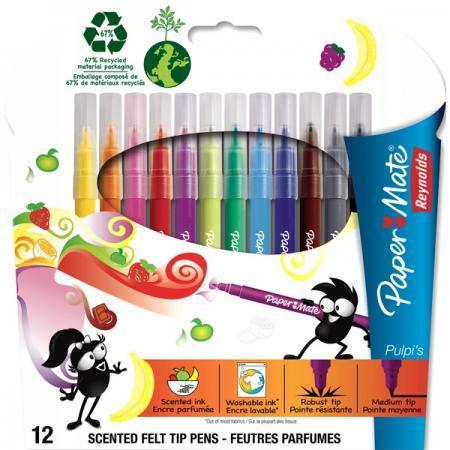 Набор фломастеров Paper Mate Crealo 12 шт разноцветный PM-S0251853