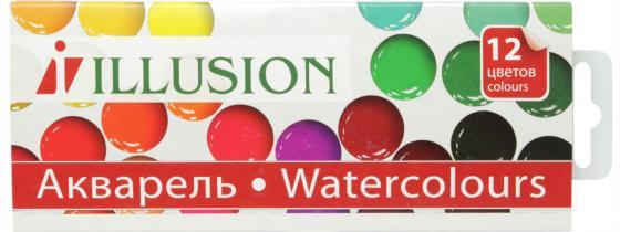 Акварель Гамма Illusion 12 цветов 212086 акварель гамма юный художник 8 цветов