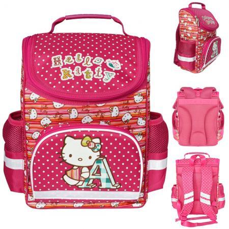 Ранец с анатомической спинкой Action! Hello Kitty розовый цена и фото