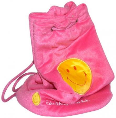 Рюкзак декоративный Flavio Ferrucci со смайликом розовый BG1268