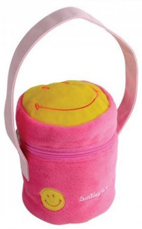 Сумочка декоративная Flavio Ferrucci розовый желтый BG1269