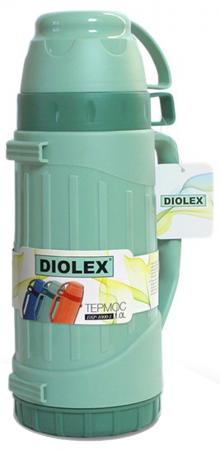 Термос Diolex DXP-1000-1-G 1л зеленый термос laplaya traditional 35 темно зеленый 1 8 л