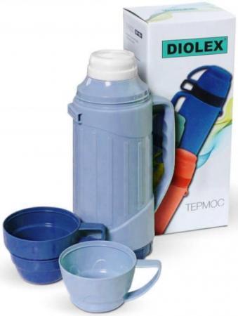 Термос Diolex DXP-600-1-B 0.6л синий