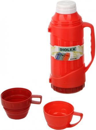 Термос Diolex DXP-600-1-R 0.6л красный