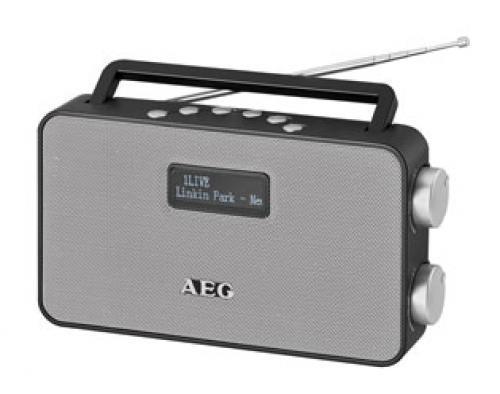 Радиоприемник AEG DAB 4153 черный DAB+ сковорода taller tr 4153