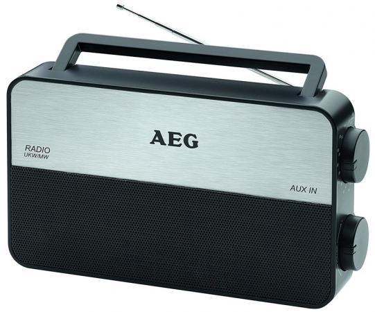 Радиоприемник AEG TR 4152 черный aeg mr 4139 bt schwarz bluetooth радиоприемник