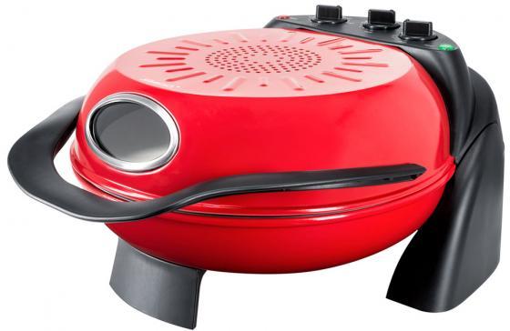 Прибор для приготовления пиццы Steba PB 1 красный чёрный электросковорода гриль steba pb 1 18 61 00
