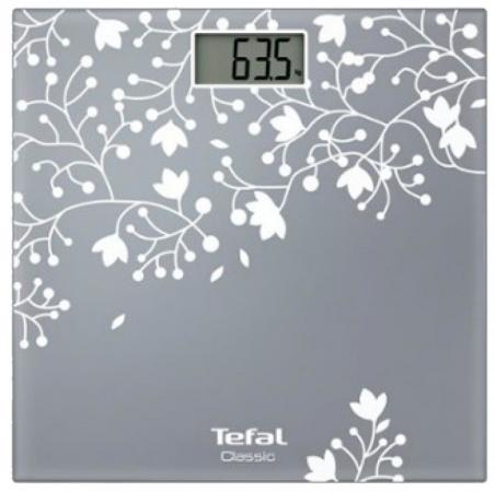 Весы напольные Tefal PP1140V0 серебристый весы напольные tefal bm6010 серебристый