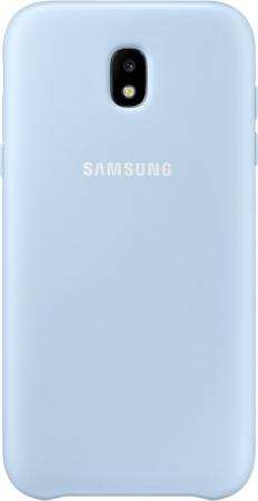 Чехол Samsung EF-PJ530CLEGRU для Samsung Galaxy J5 2017 Dual Layer Cover голубой чехол для samsung galaxy j5 2017 sm j530fm ds dual layer cover розовый