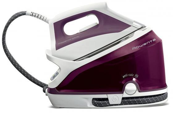 Утюг Rowenta DG7506F0 2200Вт белый фиолетовый фен rowenta cv4750 2200вт черно серый