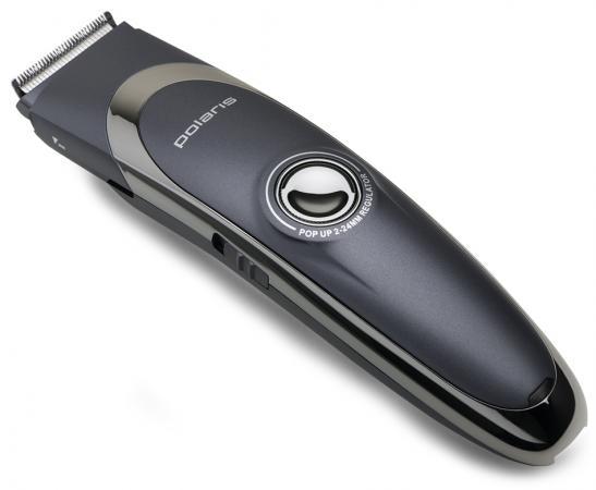 Машинка для стрижки волос Polaris PHC 0602RC чёрный машинка для стрижки волос polaris phc 0602rc синий