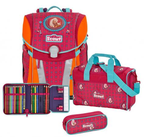 Ранец с наполнением Scout СКАКУН 744006-506 17 л разноцветный scout nano exclusive