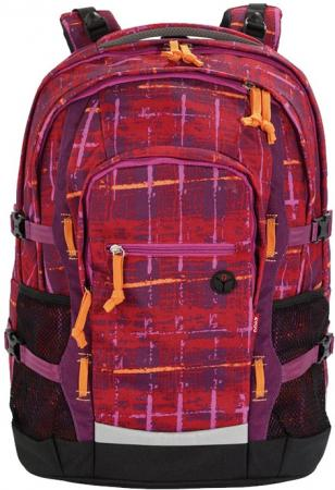 Рюкзак ортопедический 4YOU Jampac Винтаж 30 л черный красный 115501-892 цена и фото