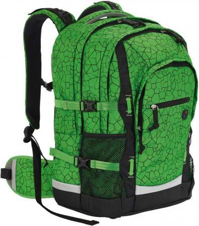 Рюкзак ортопедический 4YOU Jumpac Зеленая абстракция 30 л зеленый 115501-887 цена и фото