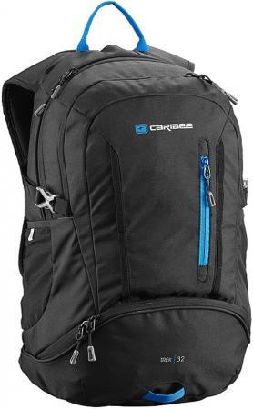 Рюкзак с анатомической спинкой CARIBEE Trek 32 л черный рюкзак с анатомической спинкой caribee x trek 28 28 л черный оранжевый 6382