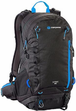 Рюкзак с анатомической спинкой CARIBEE X-trek 40 л черный синий рюкзак с анатомической спинкой caribee x trek 28 28 л черный оранжевый 6382