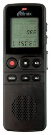 Цифровой диктофон Ritmix RR-810 4Гб черный