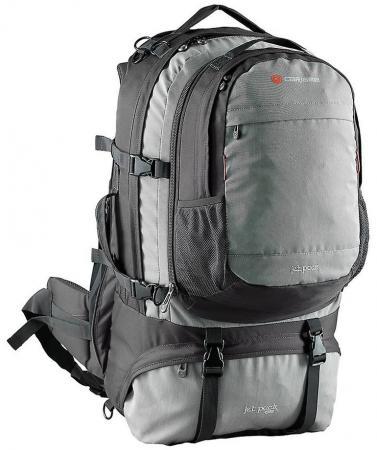 Рюкзак для путешествий CARIBEE JET PACK 65 65 л угольно-серый рюкзак bestway 68026 65 л quari красный